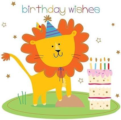 Amazon.com: Tarjeta de cumpleaños infantil