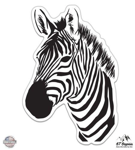 zebra car decals - 6