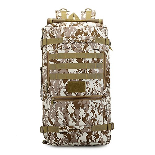 OME&QIUMEI Camouflage Tasche Großer Kapazität Double Shoulder Bag Outdoor Camping Tasche