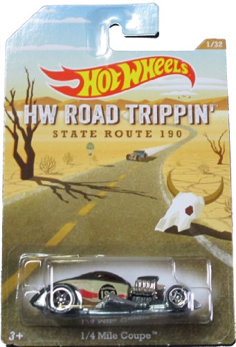 Hot Wheels - HW Road Trippin' State Route 190 - 1/4 Mile Coupe - (0.25 Mile Coupe)