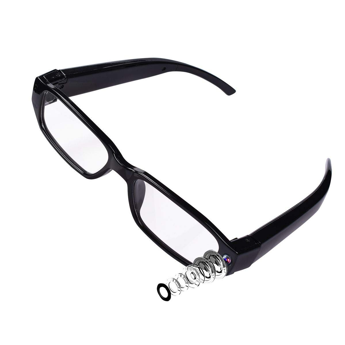 a6ada08441ce Amazon.com   LFHMLF HD Spy Hidden Camera Glasses Nanny Cam Loop Video  Recorder   Camera   Photo