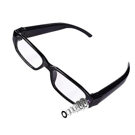 84742b7f128 Amazon.com   LFHMLF HD Spy Hidden Camera Glasses Nanny Cam Loop ...