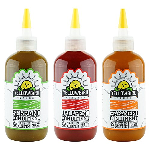- Yellowbird Hot Sauce Combo (9.8 Oz 3-Pack)