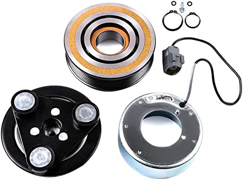 OCPTY CO 24005C A//C Compressor Clutch Assembly Compatible for Mazda CX-7 Mazda 3 Mazda 5