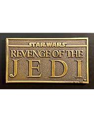 REVENGE OF THE JEDI CineMasterpieces ORIGINAL RARE BRASS PAPER WEIGHT PAPERWEIGHT 1983 RETURN OF THE JEDI STAR WARS