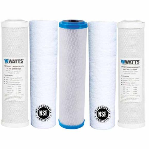 Watts Premier Wp4V Replacement Filter Pack for Reverse Osmosis System