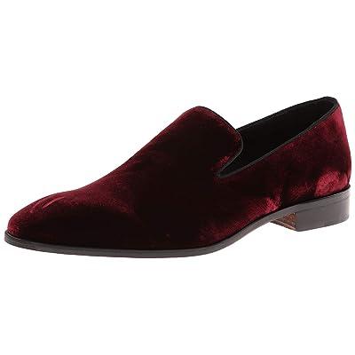 Massimo Matteo Men's Velvet Slip-On   Loafers & Slip-Ons