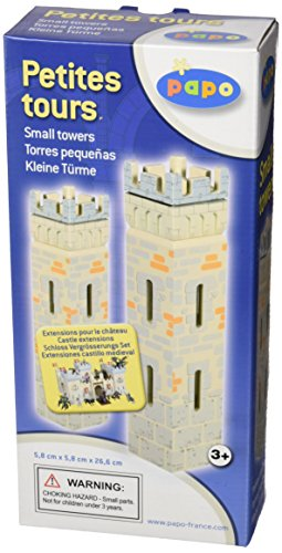 Papo Set 2 Weapon Master Castle (2 Small Towers)