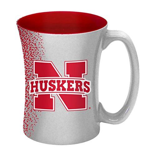 Nebraska Cornhuskers Mug Coffee - NCAA Nebraska Cornhuskers Sculpted Mocha Mug, 14-ounce