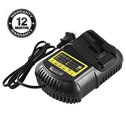 Replacement Dewalt charger for Dewalt 12V- 20V MAX Lithium-ion Battery Charger DCB101 DCB115 DCB107 DCB105 DCB205 DCB203 DCB204 DCB206 DCB201 DCB120 DCB127