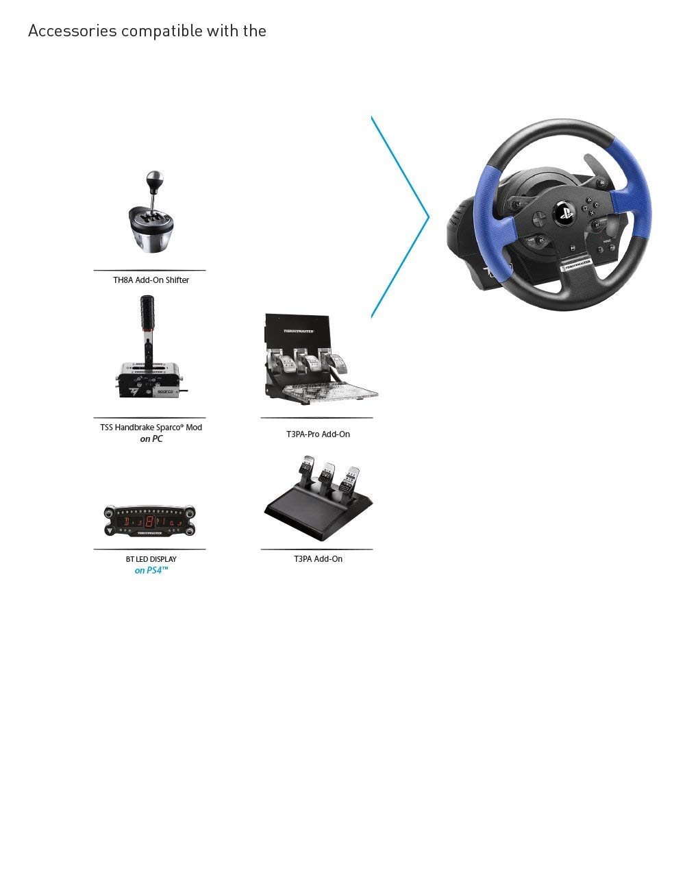 Thrustmaster T150 RS Racing Wheel for PlayStation4, PlayStation3 and PC by ThrustMaster (Image #4)