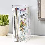 STORi Clear Plastic Magazine Holder