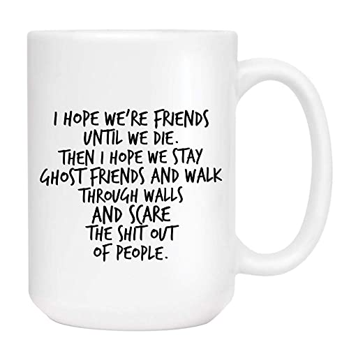 Amazon Com Best Friend Besties Coffee Mug Cute Sarcastic Funny