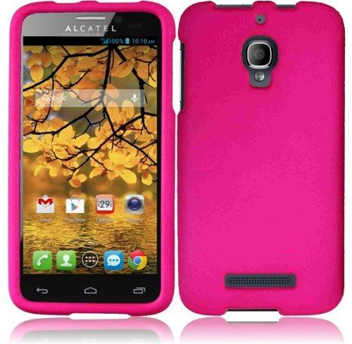 new concept 28c4d c88cb Amazon.com: For Alcatel One Touch Fierce 7024W Cover Case (Hard Hot ...