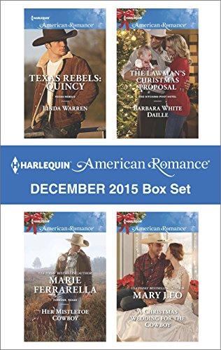book cover of Harlequin American Romance December 2015 Box Set