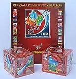 Empty album + 2 x box of stickers Panini FIFA Womens World Cup 2015 Canada