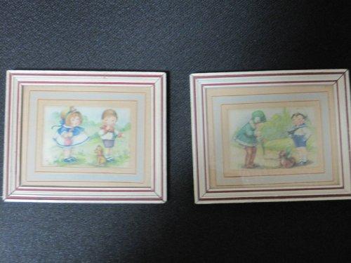 Antique Kewpie Dolls - Antique Miniature Kewpie/Cupie Doll Framed Prints by Art Publishing Co.