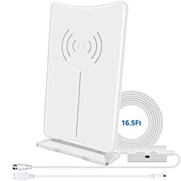 Amazon.com: CIYOYO Antena de TV digital HD, antena HDTV de ...