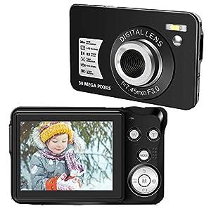 Appareil Photo Numérique Appareil Photo Compact Numérique 1080P 30 MP Appareil Photo Numérique Pas Cher Écran LCD 2,7…