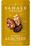 Sahale Snacks Honey Almonds Glazed Nut Mix, 4 Ounce Bag (Pack of 6)