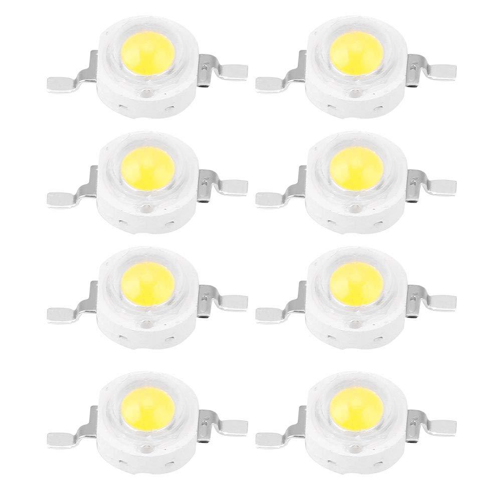 3W Super Bright Intensity SMD Emettitore di Luce Componenti Lampadina a diodi Apparecchi di Illuminazione a LED per Proiettore Spotlight Zerodis Chip ad Alta Potenza 100 PCS