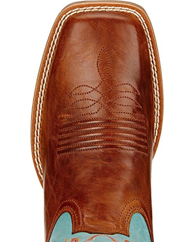 Boot Womens Ariat Cowboy Round Ryder Up Wood Ariat Western Womens E5wq78WO