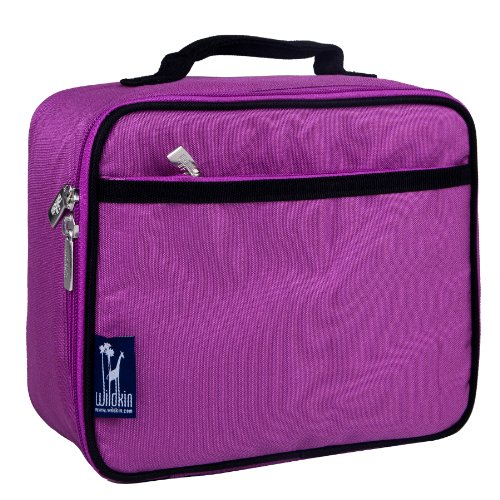 Lunch Box, Wildkin Lunch Box, Insulated, Moisture Resistant, and Easy to Clean with Helpful Extras for Quick and Simple Organization, Ages 3+, Perfect for Kids or On-The-Go Parents – Orchid