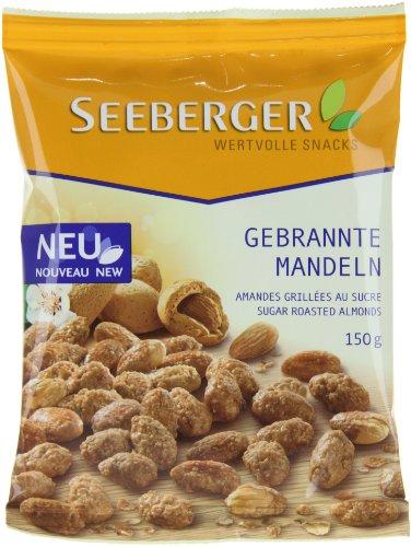 Seeberger Gebrannte Mandeln, 4er Pack (4 x 150 g)
