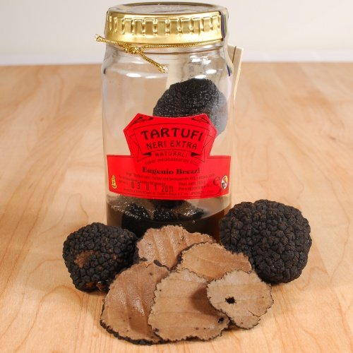 Italian Winter Black Truffles (Winter Black Italian Truffles - Brushed Extra - 1 x 0.45 oz)
