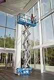 Genie GS-1930 Self-Propelled Electric Scissor Lift, 500 lbs Platform Load Capacity, 19' Lift Height