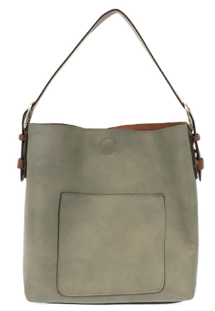 Joy Susan Classic Hobo Handbag (Misty Grey)