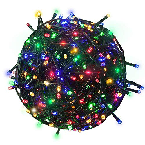 Gesto LED String Serial Light 45 Meter with 8 Modes Changing Controller for Diwali, Christmas Home Decoration.Heavy Duty…