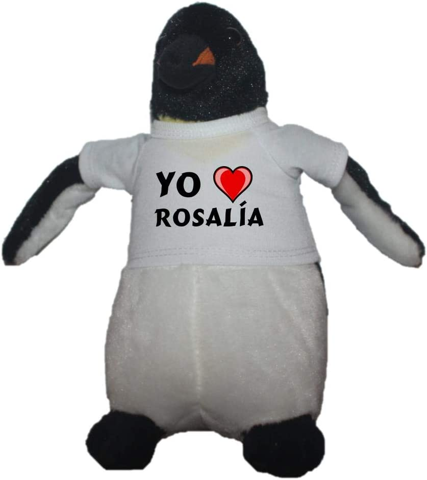 Shopzeus Pingüino Personalizado de Peluche (Juguete) con Amo ...