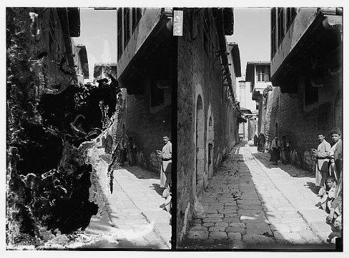 Photo: Antioch (Antakiyeh). Street in Mohammedan (i.e.,Muslim) Quarter by Infinite Photographs