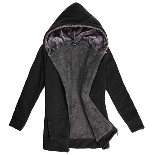 Faux Fleece Epaissir CRAVOG Chaud manteau D'hiver Sweat Femmes Fur XqxqgnfIzw