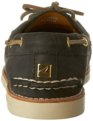 Sperry Women's Gold Cup Authentic Originals Leather Ankle-High Leather Flat Shoe Navy tZ0eA0d