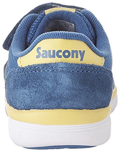 SAUCONY - Graue Sportschuhe, aus Wildleder und Synthetik, kind, Mädchen, baby Blau