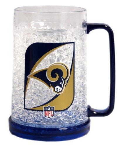 (Saint Louis Rams NFL Crystal Freezer Mug by Duck House)