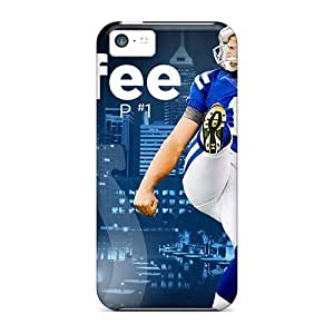 First-class Case Cover For Iphone 5c Dual Protection Cover Indianapolis Colts