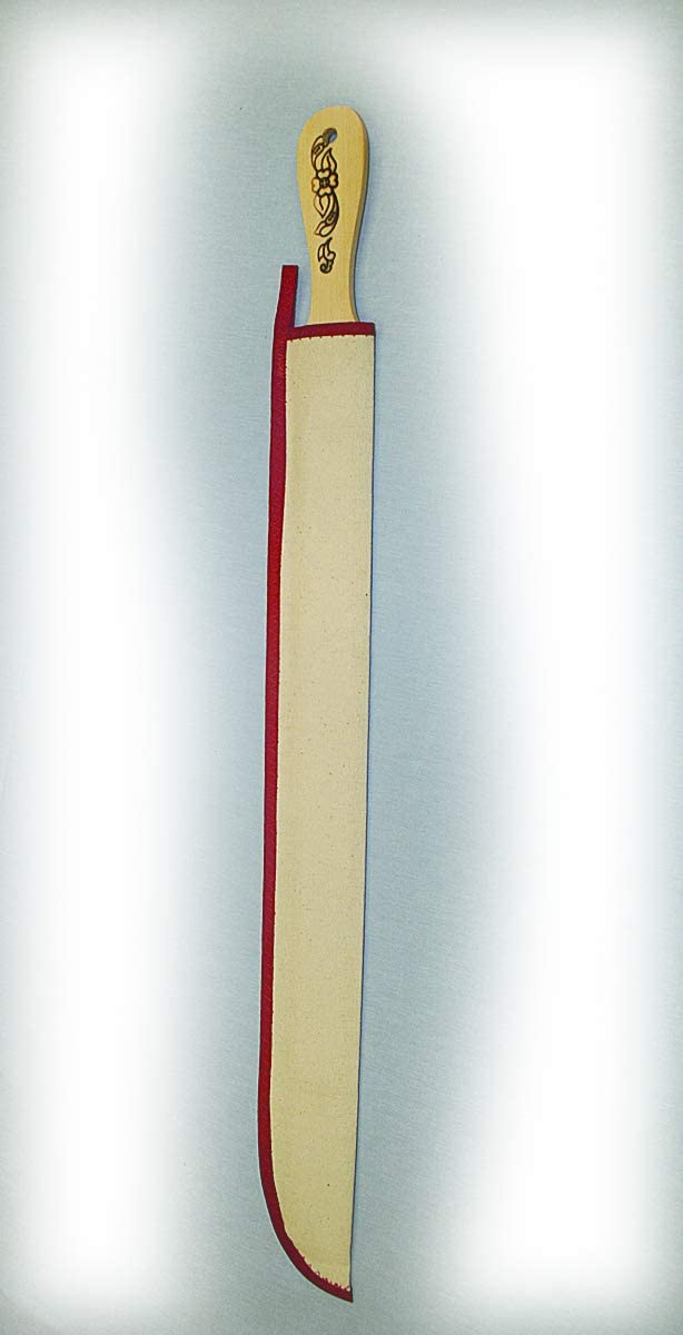 Amazon Com Lefse Turning Stick With Sheath 1 1 2 X 24 Kitchen Dining