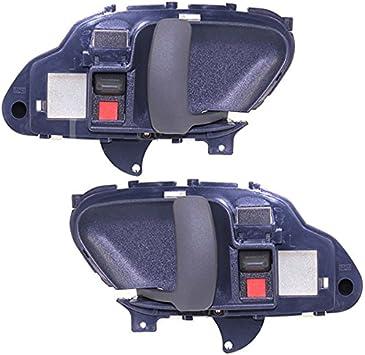 Amazon Com Koolzap For Chevy Truck Suburban Tahoe Blue Inside Inner Door Handle Left Right Set Pair Automotive