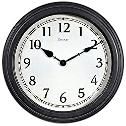 Chaney 75103 Antique Black Clock Arabic
