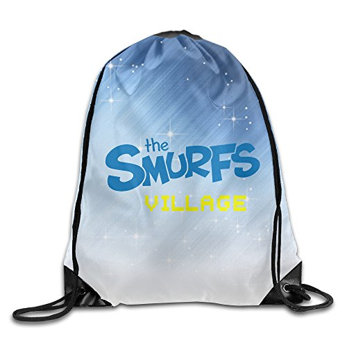 ZMILY The Blue Little Elfin Film Summer Travelling Bag White