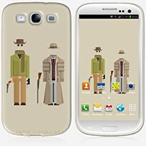 Galaxy S3 case - Skinkin - Original Design : Django Unchained by Frederico Birchal