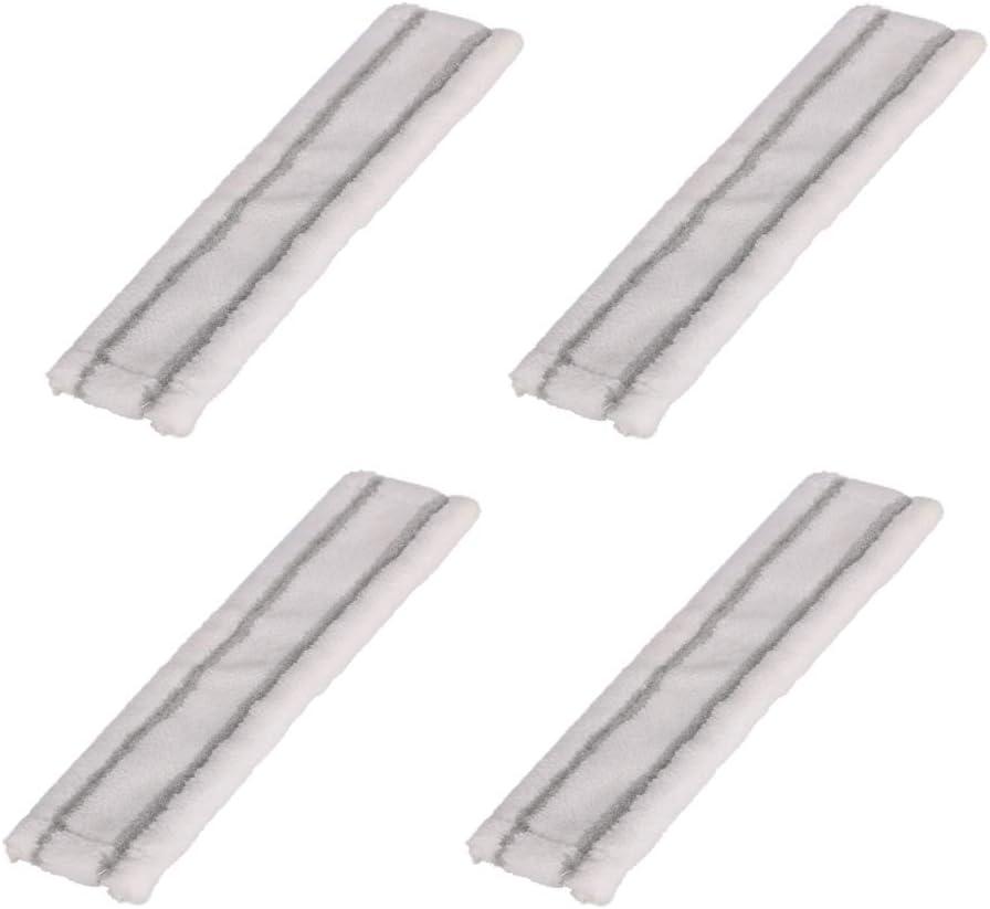 4 Unidades Pa/ños de Microfibra de Repuesto para Karcher EMEXIN
