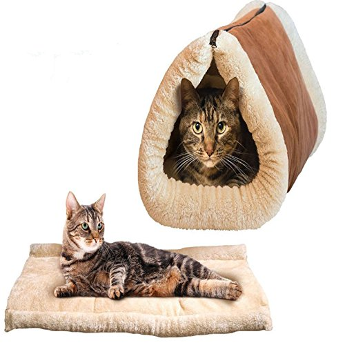 warmer-winter-kitty-shack-2-in-1-pet-accessories-tube-cat-mat-and-tunnel-bed