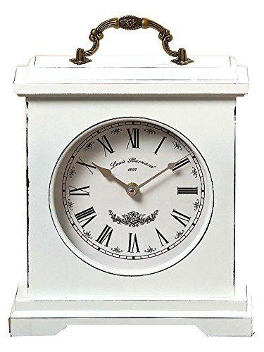 Orologio Vintage orologio antico 24 x 21 cm Weis Ora tempo orologio PENDOLA da appoggiare Boltze
