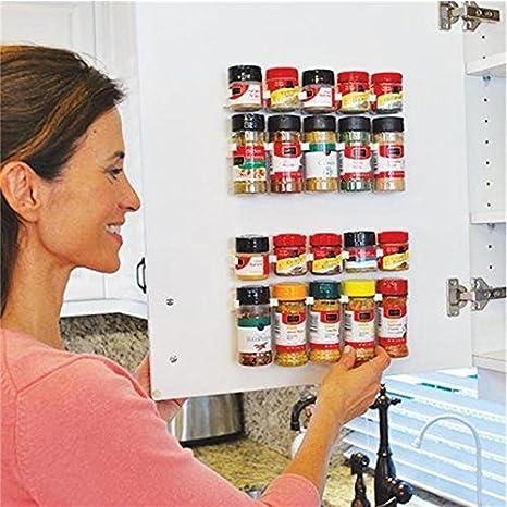 Gewürzhalter Gewürze Küche Halter Organizer Gewürzregal Gewürzständer 20 Dosen