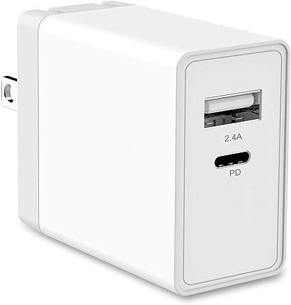 Amazon.com: UNISAME - Cargador USB tipo C para iPhone XS Max ...