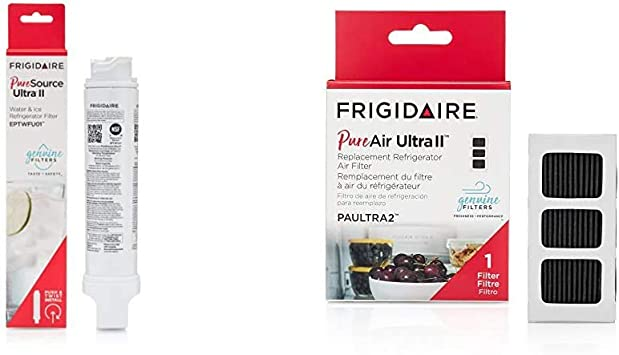 2 Pack For Frigidaire EPTWFU01 Pure Source Ultra II Refrigerator Water Filter